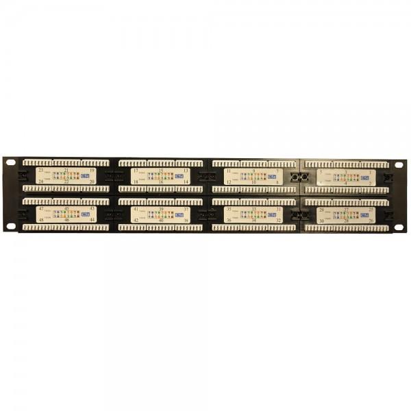 48 порта RJ-45 Krone IDC | Патч-панель 19