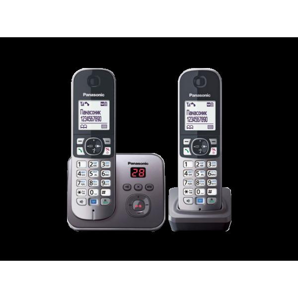 Беспроводной DECT радиотелефон Panasonic KX-TG6822