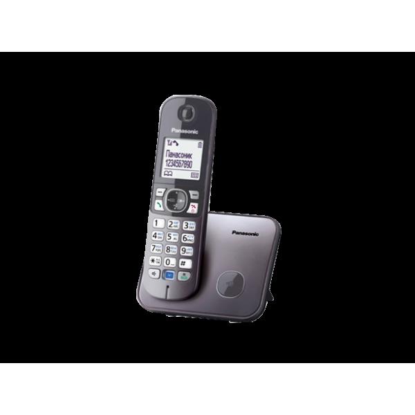 Беспроводной DECT радиотелефон Panasonic KX-TG6811