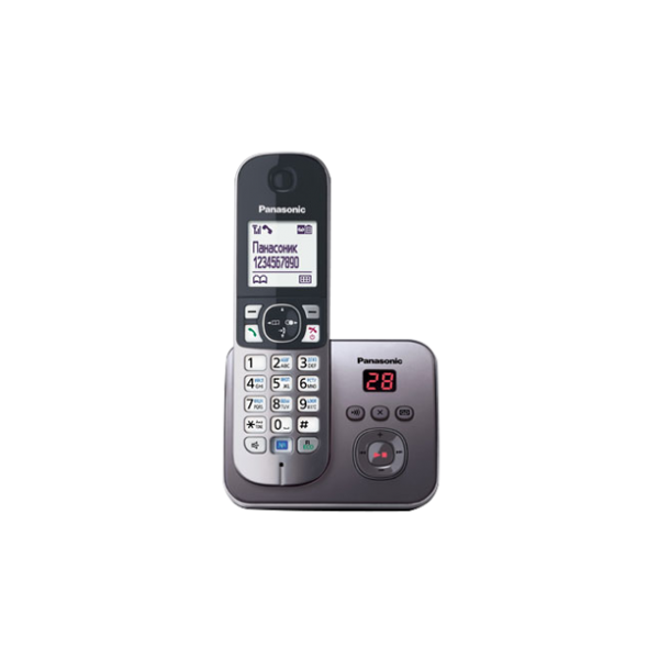 Беспроводной DECT радиотелефон Panasonic KX-TG6821