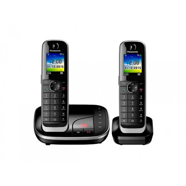 Беспроводной DECT радиотелефон Panasonic KX-TGJ322RUB