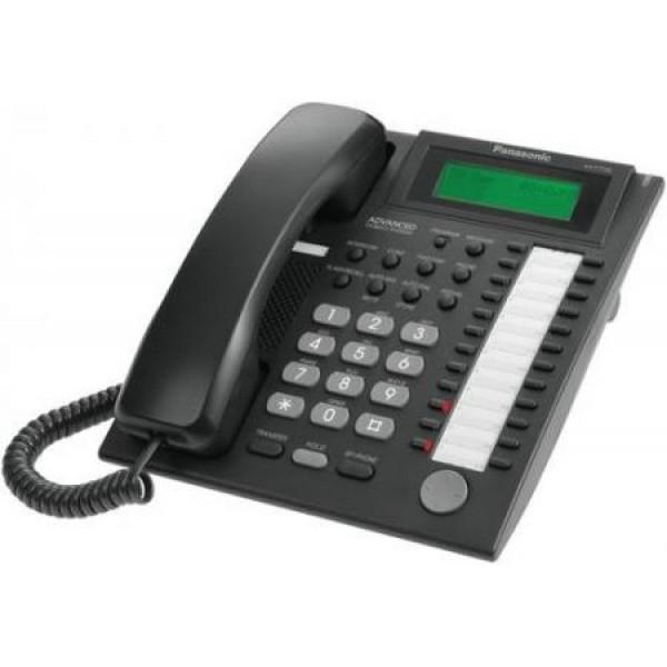 Аналоговый системный телефон Panasonic KX-T7735RUB